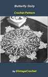 Butterfly Doily Vintage Crochet Pattern EBook
