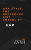 Patrick Huwyler - APA Style: The Reference List Checklist ilustración