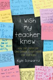 I Wish My Teacher Knew book