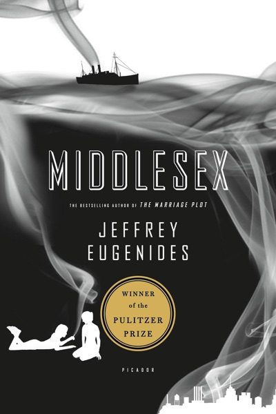 Middlesex - Jeffrey Eugenides book cover