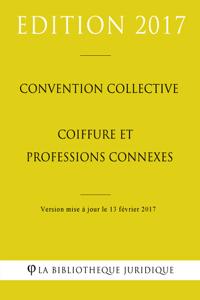 Convention collective Coiffure et professions connexes La couverture du livre martien