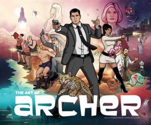 The Art of Archer La couverture du livre martien