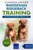 Rhodesian Ridgeback Training - Dog Training for your Rhodesian Ridgeback puppy