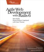 Agile Web Development with Rails 6 Book Cover