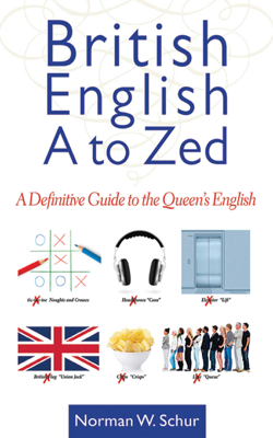 Norman W. Schur - British English from A to Zed book