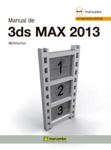 Manual de 3DS Max 2013 Libro Cover