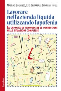 Lavorare nell'azienda liquida utilizzando l'apofenia Copertina del libro