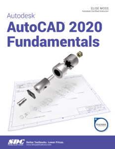 Autodesk AutoCAD 2020 Fundamentals Book Cover