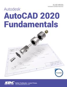 Autodesk AutoCAD 2020 Fundamentals Book Cover