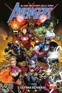Avengers (2018) 1 Book Cover