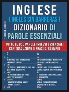 Inglese ( Ingles Sin Barreras )  Dizionario di Parole Essenziali Libro Cover