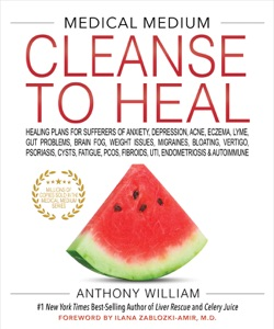 Medical Medium Cleanse to Heal Book Cover