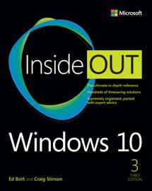 Windows 10 Inside Out, 3/e