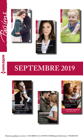 12 romans Passions + 1 gratuit (n°815 à 820 - Septembre 2019) - Collectif