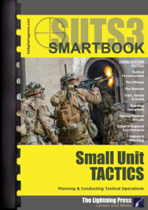 SUTS3: The Small Unit Tactics SMARTbook, 3rd Ed. Book Cover