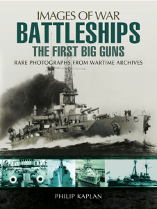 Battleships: The First Big Guns Buch-Cover