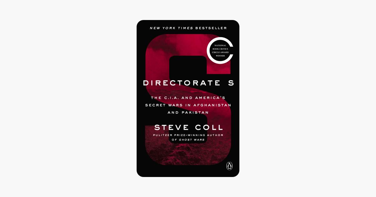 Directorate S - Steve Coll