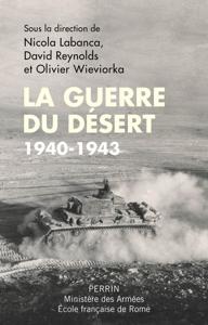 La guerre du désert, 1940-1943 La couverture du livre martien