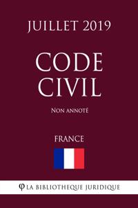 Code Civil (France) (Juillet 2019) Non annoté La couverture du livre martien