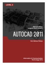 2D Dan 3D CAD (AutoCAD 2011) Level 2