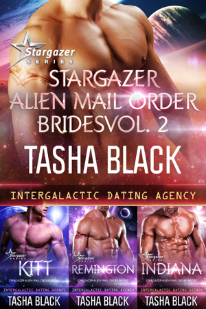 Stargazer Alien Mail Order Brides: Collection #2 (Intergalactic Dating Agency) - Tasha Black