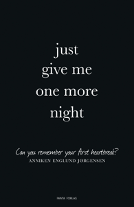 Just give me one more night Cover Book