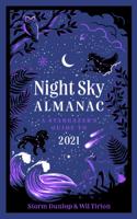 Royal Observatory Greenwich, Storm Dunlop & Wil Tirion - Night Sky Almanac 2021 artwork