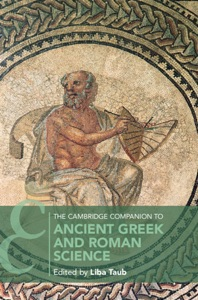 The Cambridge Companion to Ancient Greek and Roman Science Book Cover