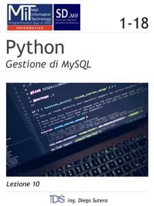 Python - Gestione di MySQL Copertina del libro
