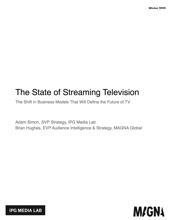The State Of Streaming Television