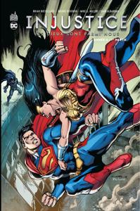 Injustice - Année 4 - 1ère partie La couverture du livre martien