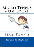 Micro Tennis - On Court Blue