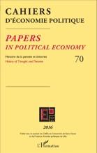 Cahiers D'économie Politique 70