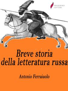 Breve storia della letteratura russa Copertina del libro