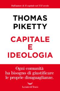 Capitale e ideologia Copertina del libro