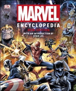 Marvel Encyclopedia New Edition Book Cover