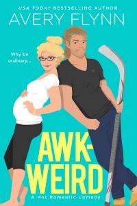Awk-weird Book Cover