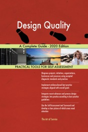 Download Design Quality A Complete Guide - 2020 Edition