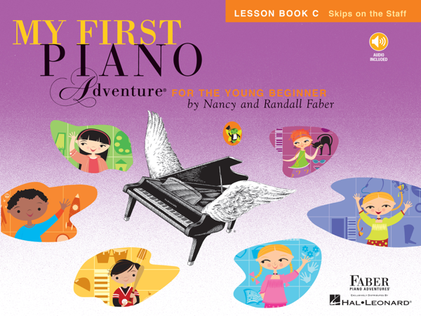 My First Piano Adventure: Lesson Book C with Play-Along & Listening Audio