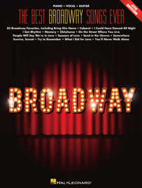 The Best Broadway Songs Ever  Songbook