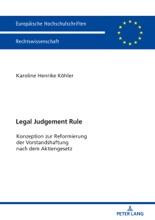 Legal Judgement Rule