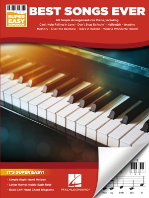 Best Songs Ever - Super Easy Piano Songbook