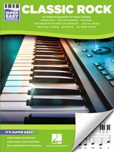 Classic Rock - Super Easy Piano Songbook Book Cover