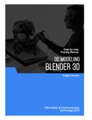 3D Modeling (Blender 3D) Book Cover