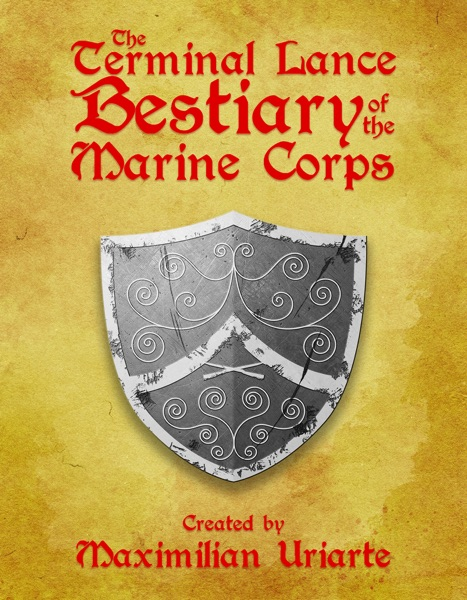 The Terminal Lance Bestiary of the Marine Corps - Maximilian Uriarte book cover