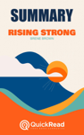 """Summary of """"Rising Strong"""" by Brené Brown"""