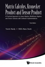Matrix Calculus, Kronecker Product and Tensor Product