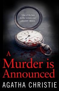 A Murder is Announced Door Agatha Christie Boekomslag
