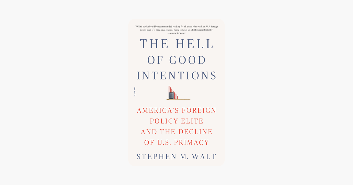 The Hell of Good Intentions - Stephen M. Walt