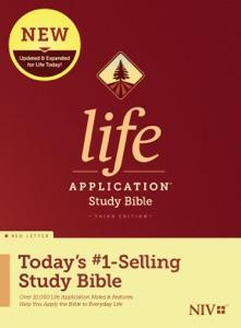 NIV Life Application Study Bible, Third Edition Book Cover